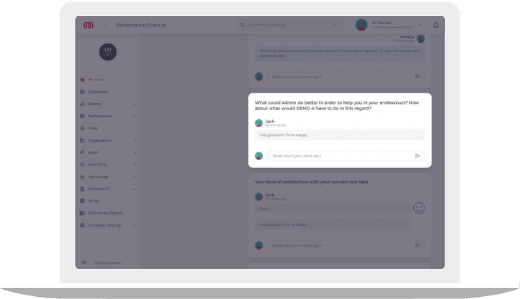 Highlight your growth with this employee review tool